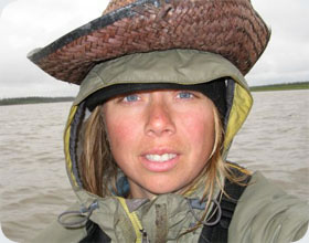 Michelle Swallow - author Mackenzie River Guidebook