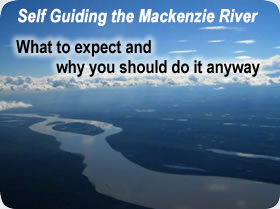 Self Guiding the Mackenzie River